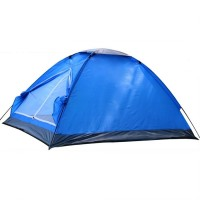 Jual Tenda Camping Single Layer Outdoor Biru Murah