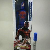 Mainan Action Figure Spiderman 2099 Titan Tinggi 30cm Ada Artikulasi