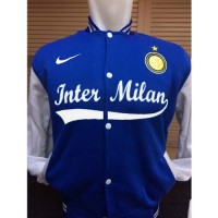 harga Varsity Jacket Football I-835p Jaket Baseball Inter Milan Kombinasi Tokopedia.com