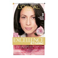 LOREAL excellence creme 3 NATURAL DARK BROWN