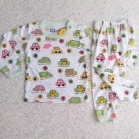 Piyama anak/piyama bayi/baju tidur anak motif mobil