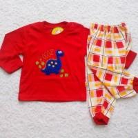 baju tidur anak/baju tidur bayi motif dino
