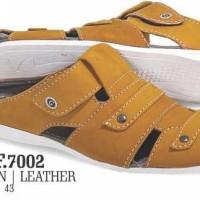 Sepatu Sandal Pria Kulit Murah Golfer Terbaru (Golfer Bandung) GYD 520
