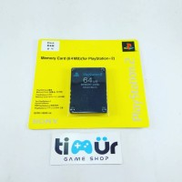 Memory Card MC PS2 64MB Hitam