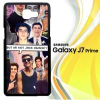 Jack Gilinsky Collage F0116 Casing HP Samsung Galaxy J7 Prime Custom