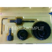 Matabor Kayu 11pcs Mata Bor Lubang Lobang Holesaw Pcs Set 19-64mm