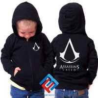 harga Hoodie Zip / Jaket Sweater Assassins Creed Anak Tokopedia.com