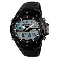 Jam Tangan Olahraga untuk Pria - Layar 2 LED - Tahan Air -Multifu