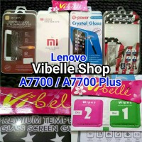 TEMPERED GLASS LENOVO A7700 / A7700 Plus Screen Guard Anti Gores Kaca