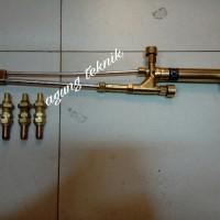 Blender Potong / Cutting Torch Gagang las potong type M + 3 Nozzle LPG