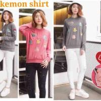 pokemon Pikachu sweater (geser ke samping utk foto lainnya)