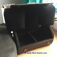 MuS Watch Genuine Calf Leather Box ( 2 Slot ) v2.0
