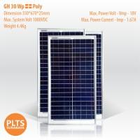 Solar Panel - GH 30 Wp, Poly