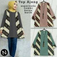 54602/tunik wanita/tunik batik/busana muslim wanita/blouse import