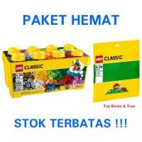 LEGO Classic, Medium Creative Brick Box & Green Baseplate