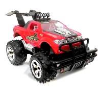 Super Racer RC Mobil Storm Bigfoot Pickup Skala 1/16 - Merah