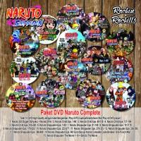 harga Paket DVD Naruto Full Complete Tokopedia.com