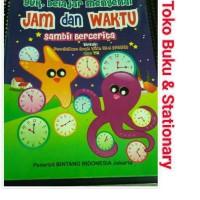 Buku Anak Mengenal Jam & Waktu