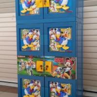 Lemari Plastik / Gantungan - NAIBA - Donald Duck