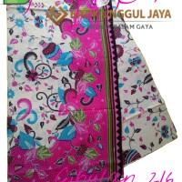 Harga kain batik pekalongan primisima halus cibulan 216 pink unggul | Hargalu.com