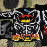 Jual baju batman/baju anak laki laki/baju karakter superhero/setelan anak Murah