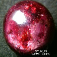 Jual NATURAL RUBY MADAGASCAR  SUPER HOT BLOOD MIRAH BANG Murah