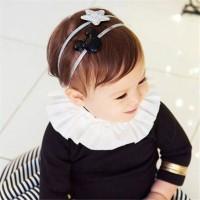 Bandana Bayi / Anak Karakter Mickey Mouse Star Korean Fashion Lucu