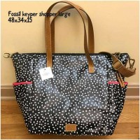 fossil keyper shopper large tas asli original bag branded bag