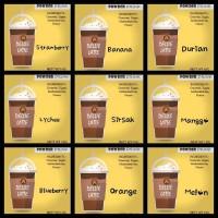 Jual Powder Drink Dellie latte,ice bubble, blender, milkshake, Cappucino Ci Murah