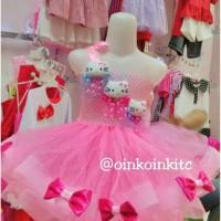 Dress Tutu Hello Kitty/Gaun Anak