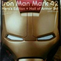 Nendoroid Iron Man Mark 42 Heros Edition Hall Of Armor Set - GSC