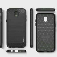 Samsung Galaxy J3 Pro Softcase Carbon Case Casing Cover Silikon TPU