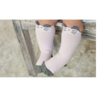 Jual Kaos Kaki Middle Sock 3D Bayi / Anak Korean Fashion Karakter Tikus Murah