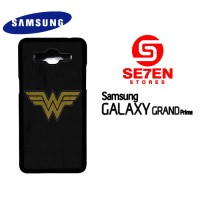 Casing HP Samsung Grand Prime wonder woman logo 1 Custom Hardcase