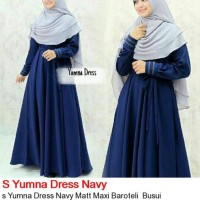 S Yumna Dress Bavy / Baju Muslim