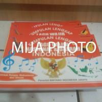 buku kumpulan lagu Lengkap ,Lagu Wajib Nasional & Daerah INDONESIA