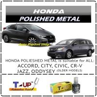 HONDA POLISHED METAL - CAT OLES - T-UP - TOUCH UP AUTOMOTIVE PAINT