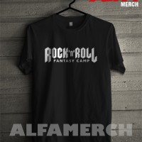 MURAH!!! Baju Kaos ROCK AND ROLL simpel keren ALFAMERCH