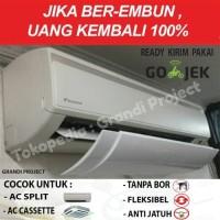 AC Air Screen Cover | Reflektor / Talang / Penahan Hembusan Angin AC