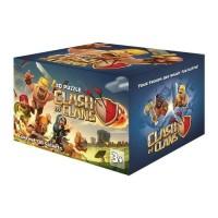Clash Of Clans Mainan puzzle 3D karakter edukasi Clan COC Box 30 Pcs