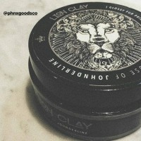 Jual MINYAK RAMBUT - Lion Clay new hair styling (Not a Pomade, Gel or Wax) Murah