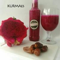 minuman jus terlaris - KURMAes 350 ml - homemade - kurma - susu - buah