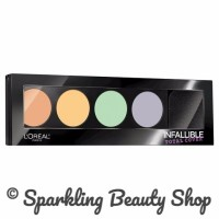 DISKON - L'Oreal Infallible Total Cover Concealer / Contouring Palette