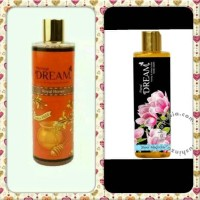 Sabun Dream Royal Honey Dan Sheer Magnolia 500 Ml Bonus Sponge Mandi