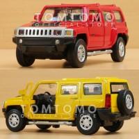 Diecast Hummer H3 Miniatur Mobil Mobilan Mainan Anak Kado Jeep Jip
