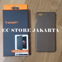 Original Spigen Air Skin Casing iPhone 8 Plus Iphone 7 Plus - Black