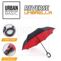 Jual Kazbrella Payung Terbalik / Reverse Umbrella Gagang C Murah