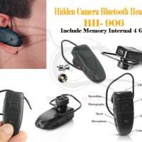 Spy Hidden Camera Bluetooth Headset BH 906 Video Recorder TERBAIK