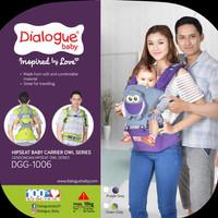 Dialogue Baby Gendongan Bayi Hipseat - Motif Karakter Owl DGG 1006