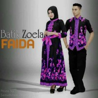 Jual Batik Couple Gamis Sarimbit Faida Termurah Best Seller Murah
